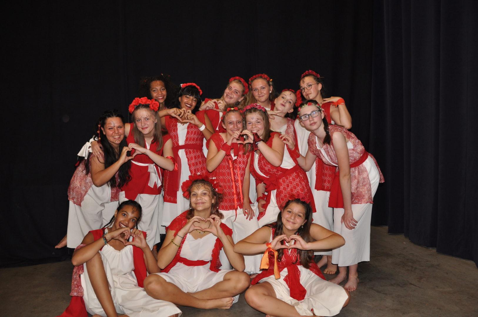 Spectacle annuel des ateliers danse