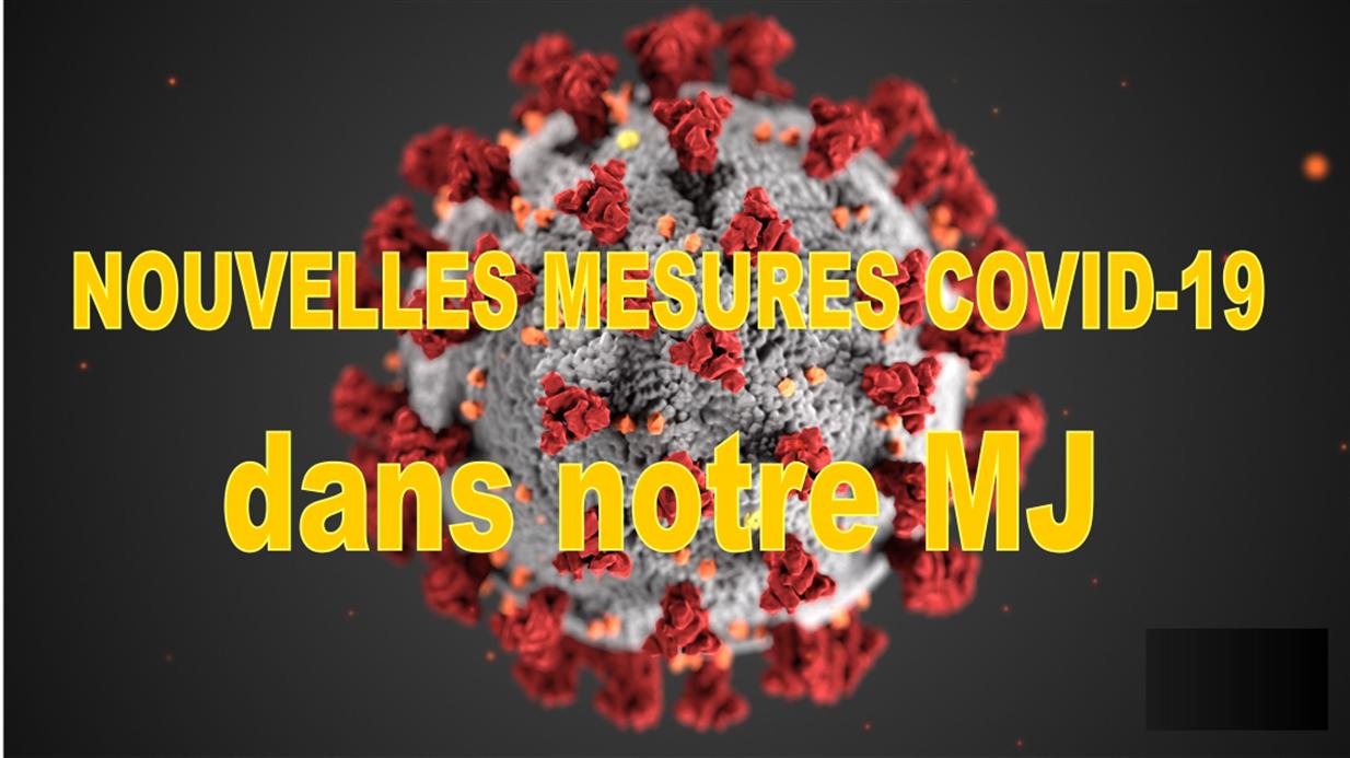 Nouvelles mesures covid-19 (au 19/04/21)