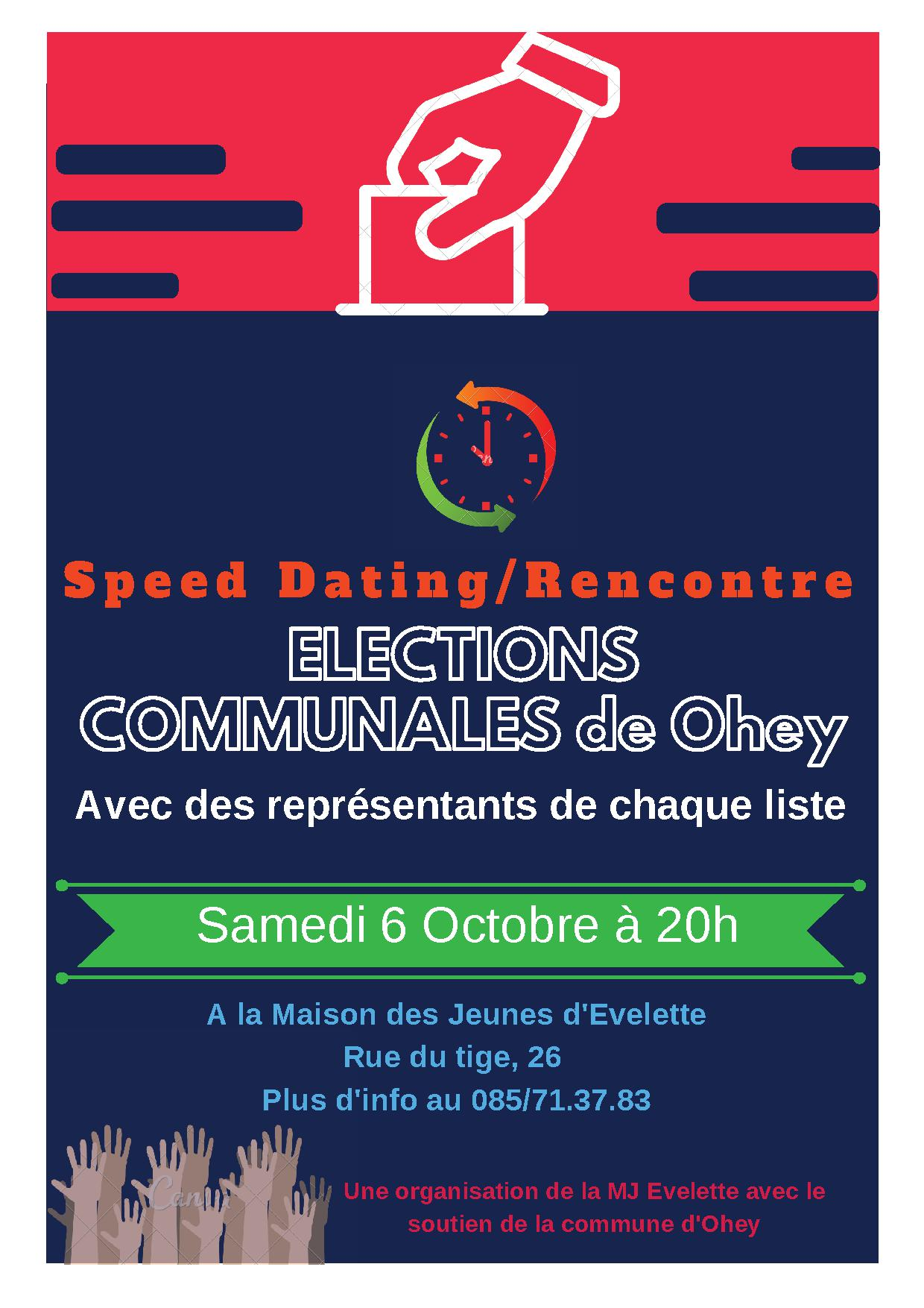 Comment organiser une soiree speed dating